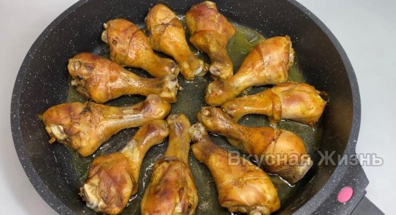 Куриные ножки в чайном маринаде: по вкусу как шашлык
