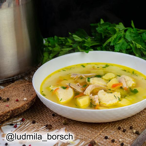 Куриный суп советских времен «Обжорка», покорил миллион сердец.