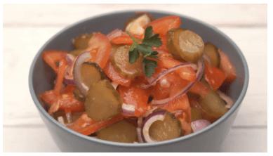 Мега Простой Салат из 3-х ингредиентов! Обалденно Вкусно!