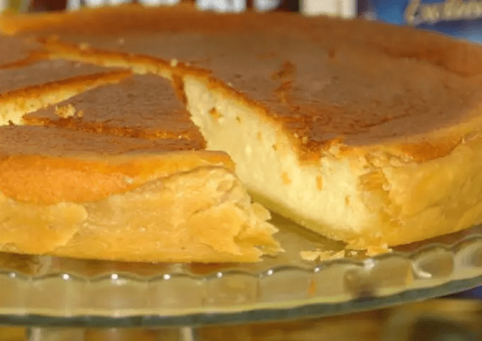 Песочный пирог с творогом – от него невозможно оторваться.