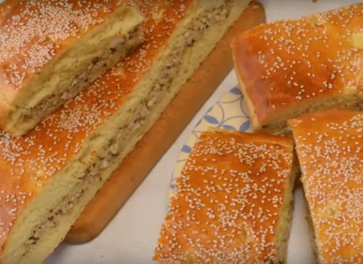 Пирог с мясом — аппетитно, вкусно, сытно.