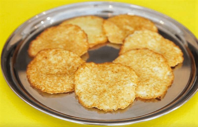 ПОЧТИ ДРАНИКИ... Картофельные оладьи с чесноком