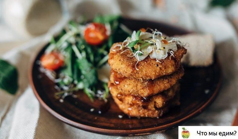 Постный рецепт: Румяные овощные котлеты из красной чечевицы