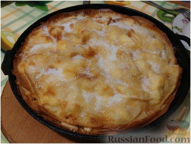 Слоеный болгарский пирог - баница / Рецепты любимой выпечки