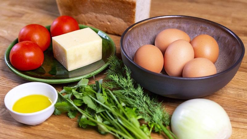 Завтрак мечты. Идеальная яичница на томленом луке.