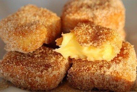 Жареное молоко! Необыкновенный испанский десерт.