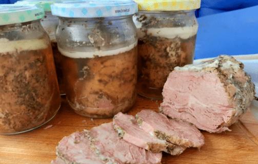 Мясо в банке для сытного завтрака / Рецепты моего детства