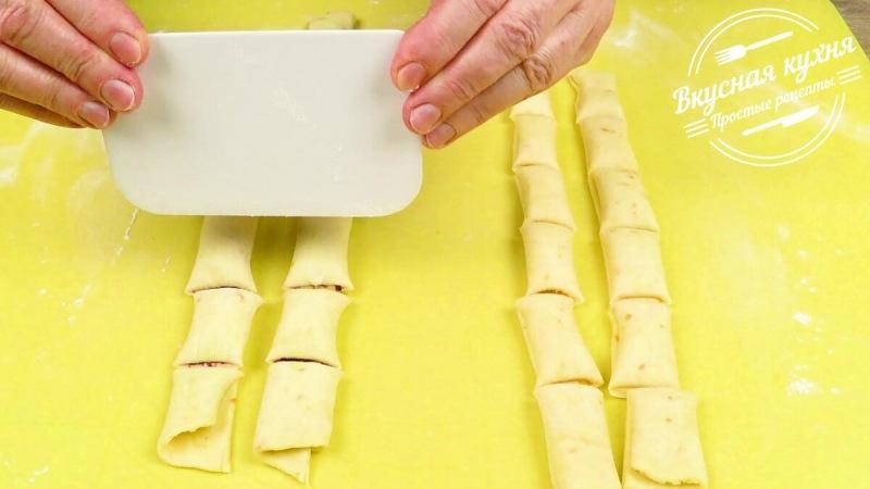 Простое и быстрое печенье с джемом (делюсь рецептом)