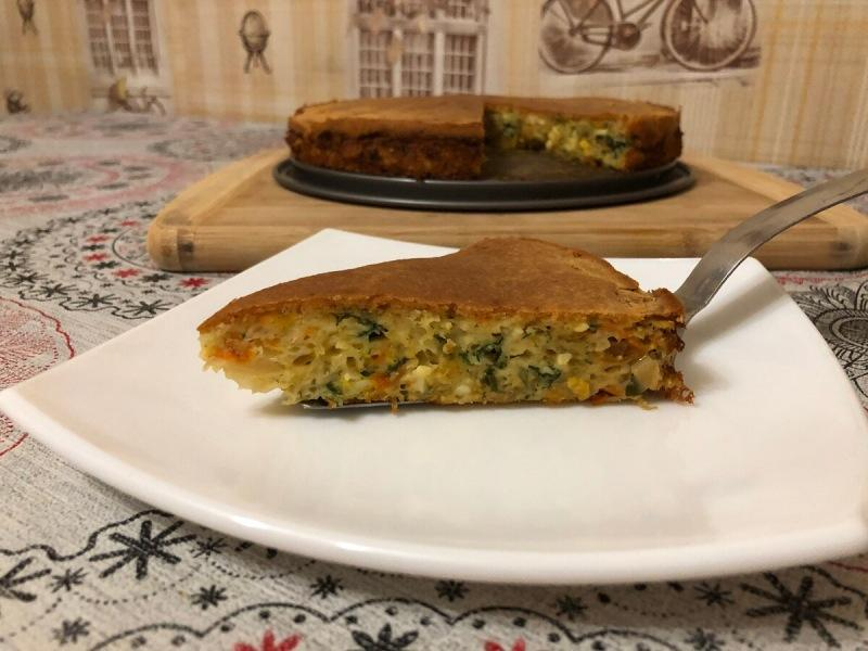 Рецепт заливного пирога из удачного теста!