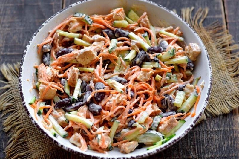 Новый салат из четырёх ингредиентов