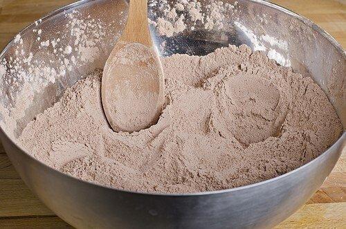 Быстрые шоколадные кексы без яиц - просто и доступно