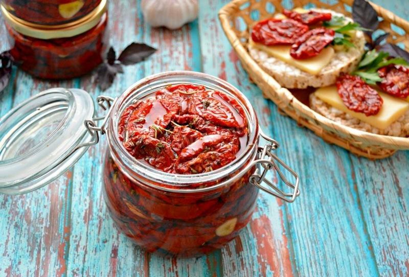 Вяленые помидоры (в духовке)