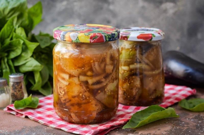 Баклажаны со вкусом шашлыка на зиму