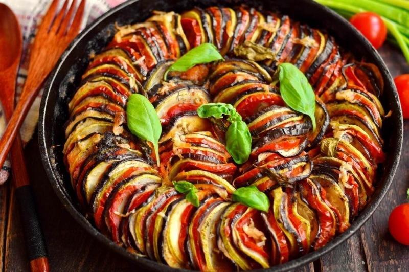 Рататуй, овощное рагу