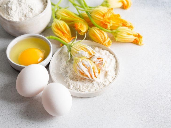 Рецепт недели: фаршированные цветки цукини