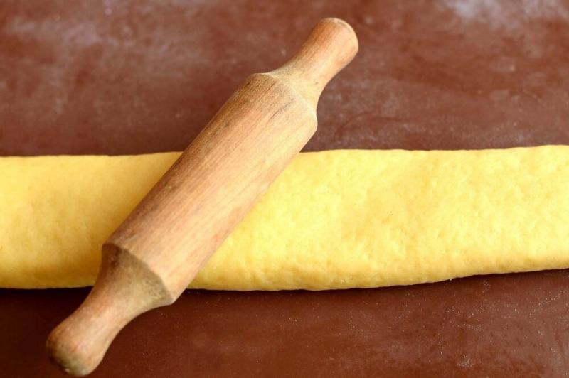 Слоенное печенье на кефире