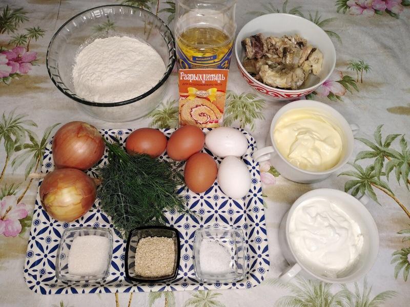 Вкусный, сытный и нежный рыбный пирог в духовке