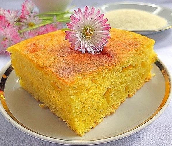 Манник на кефире – простой, но вкусный пирог из самых доступных ингредиентов