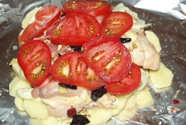 «Обед в фольге» - вкусно и сытно