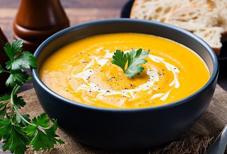 Осенние рецепты: тыквенный крем-суп
