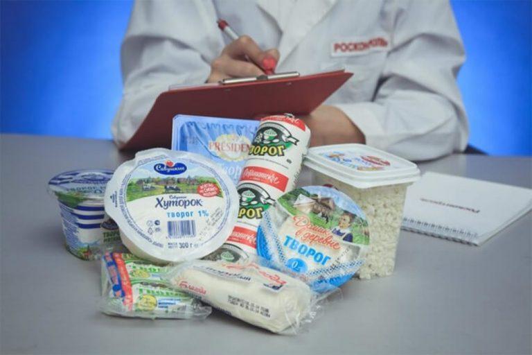 Росконтроль назвал самые опасные творожные продукты