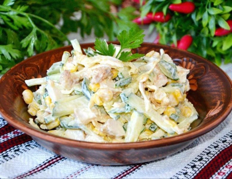 Кукурузный салат «Мистический