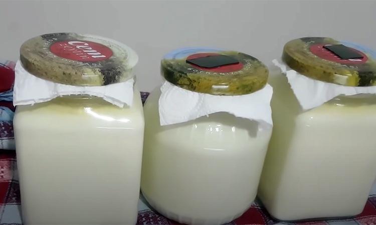 Только молочный сыр: варить 15 минут, затем добавить дрожжи. Утром сыр готов