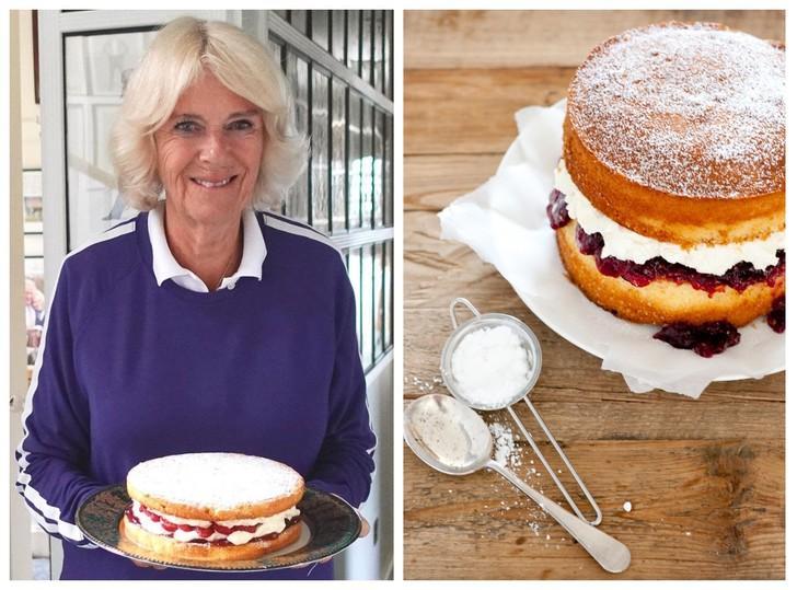 Викторианский торт: как готовить любимый десерт герцогини Камиллы