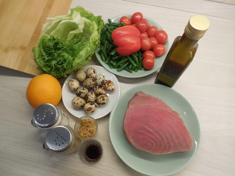 Была причина. Салат Нисуаз приготовила: все просто, но дорого, изысканно и очень вкусно делюсь рецептом