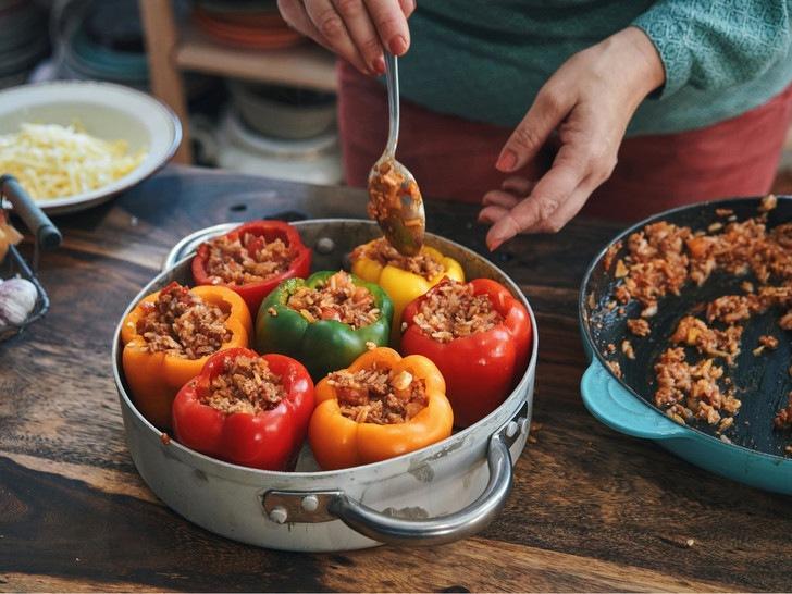 Фаршированный перец по-новому - секретный рецепт королевского шеф-повара