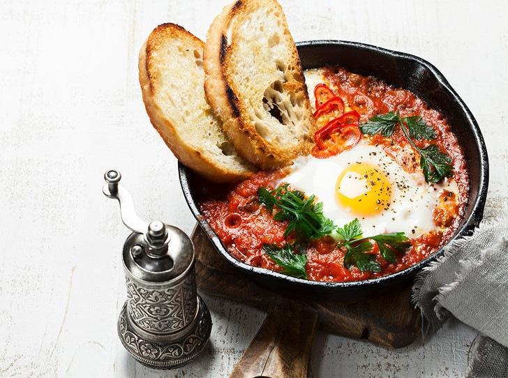 Идеальный завтрак: шакшука