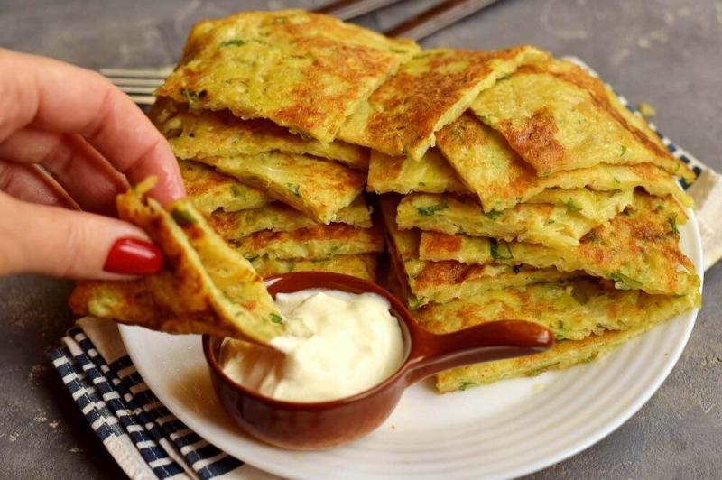Картофельные лепешки с сыром на сковороде