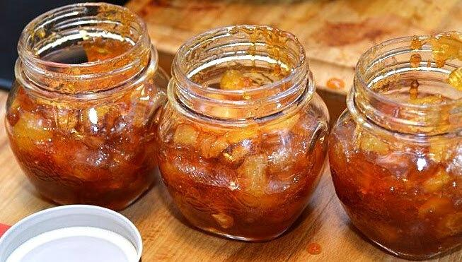 Научили варить крупные нарезанные яблоки в густой карамели - «ленивое» варенье на зиму за 15 минут. И 3 секрета идеальных ломтиков