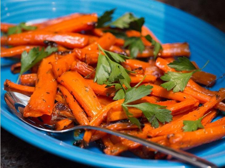 Осенние рецепты: глазированная морковь от Джейми Оливера