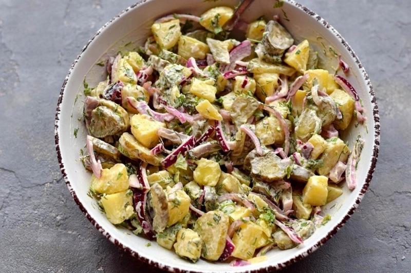 Самый вкусный немецкий салат